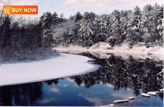 Songo River Winter
