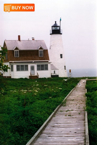 Wood Island Light - Biddeford Pool